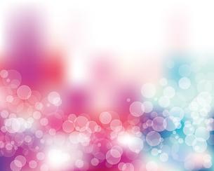 輝きとぼかしのカラーグラデーション背景のイラスト素材 [FYI04907884]