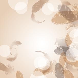 羽根が舞う背景のイラスト素材 [FYI04908123]