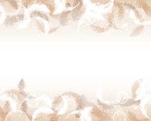 羽根が舞う背景のイラスト素材 [FYI04908136]