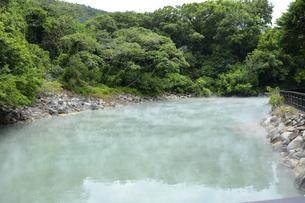 北投温泉 地熱谷の写真素材 [FYI04908893]