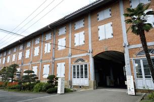富岡製糸場 東置繭所の写真素材 [FYI04908894]