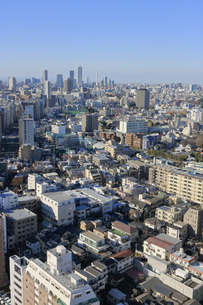 東京都心のパノラマ 池袋方面の写真素材 [FYI04908907]