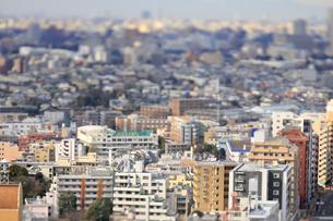 新宿副都心のジオラマ風景の写真素材 [FYI04908928]