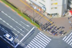 富坂下交差点のジオラマの写真素材 [FYI04908951]