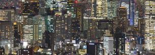 都市の夜景の写真素材 [FYI04909406]