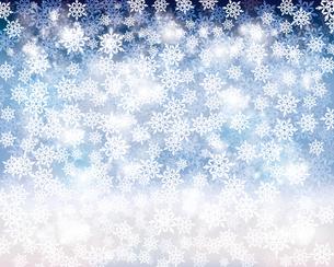 雪の結晶の背景のイラスト素材 [FYI04909478]
