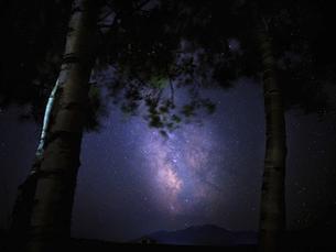 天の川の写真素材 [FYI04909609]