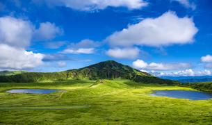 熊本県 烏帽子岳の写真素材 [FYI04909624]