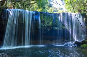 熊本県 鍋ヶ滝の写真素材 [FYI04909727]
