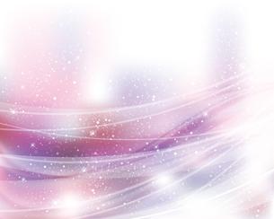 輝きとぼかしのグラデーション背景のイラスト素材 [FYI04909873]