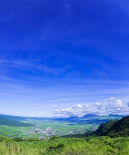 熊本県 風景 かぶと岩展望所よりの眺望 の写真素材 [FYI04910646]