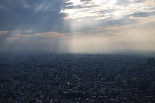 東京・都市部の夕景の写真素材 [FYI04910773]