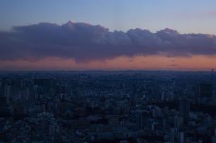 東京・都市部の夕景の写真素材 [FYI04910777]