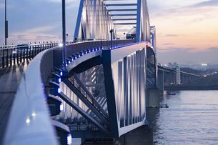 東京ゲートブリッジの写真素材 [FYI04910781]