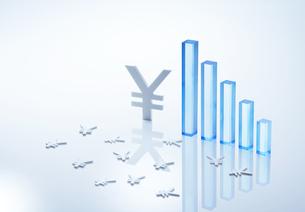 円経済イメージの写真素材 [FYI04910805]