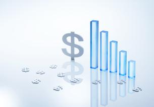 ドル経済イメージの写真素材 [FYI04910806]