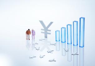老後経済イメージ3の写真素材 [FYI04910807]