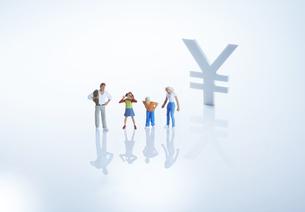 ファミリー経済イメージ1の写真素材 [FYI04910811]
