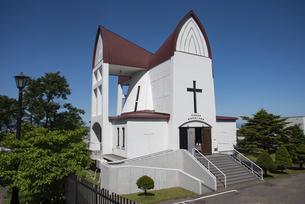 函館 聖ヨハネ教会の写真素材 [FYI04910884]