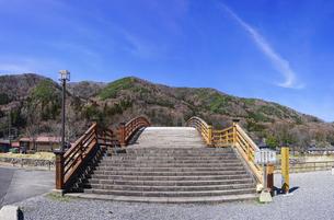木曽の大橋 奈良井宿(重要伝統的建造物群保存地区)の写真素材 [FYI04910900]