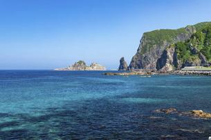 北海道 積丹半島の夏の風景の写真素材 [FYI04910928]