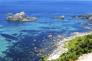 北海道 積丹半島の夏の風景の写真素材 [FYI04910936]