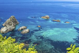 北海道 積丹半島の夏の風景の写真素材 [FYI04910937]