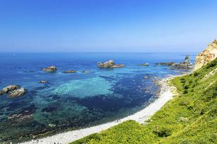 北海道 積丹半島の夏の風景の写真素材 [FYI04910944]