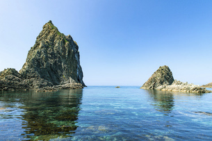 北海道 積丹半島の夏の風景の写真素材 [FYI04910949]