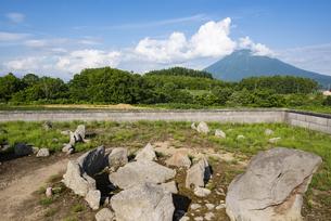 曽我北栄環状列石(北海道ニセコ)の写真素材 [FYI04911177]