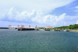 大原港の写真素材 [FYI04912010]