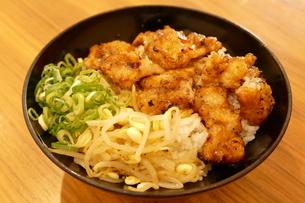 美味しいホルモン丼の写真素材 [FYI04912797]