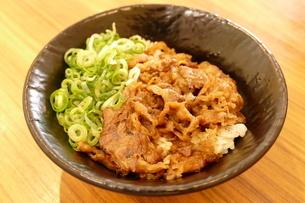 美味しい牛丼の写真素材 [FYI04912798]