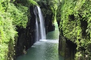 高千穂峡と真名井の滝の写真素材 [FYI04912823]