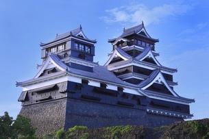 熊本城 大小天守閣の写真素材 [FYI04912864]