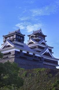 熊本城 大小天守閣の写真素材 [FYI04912865]