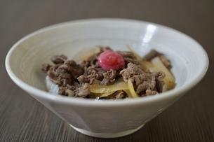 牛丼の写真素材 [FYI04912917]