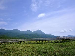 知床連山の写真素材 [FYI04913031]