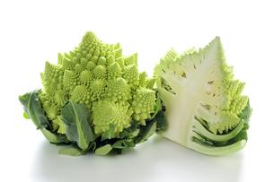 イタリア野菜のロマネスコの写真素材 [FYI04913397]