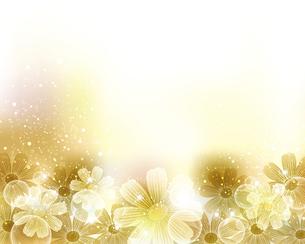 コスモスの花の背景のイラスト素材 [FYI04913436]
