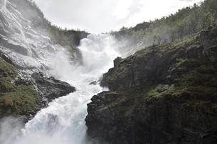 フロム鉄道 ショースの滝の写真素材 [FYI04913665]