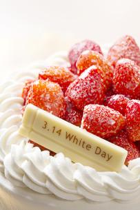 ホワイトデーケーキの写真素材 [FYI04913764]