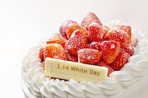 ホワイトデーケーキの写真素材 [FYI04913765]