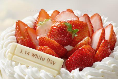 ホワイトデーケーキの写真素材 [FYI04913785]