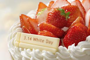 ホワイトデーケーキの写真素材 [FYI04913786]