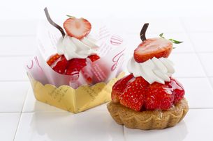 イチゴケーキの写真素材 [FYI04913798]