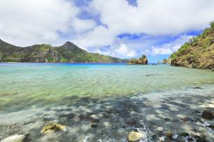 小笠原国立公園 父島の釣浜の写真素材 [FYI04913917]