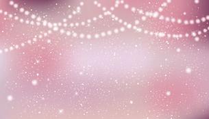 輝きとぼかしのピンクグラデーション背景のイラスト素材 [FYI04914150]