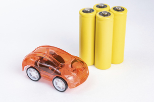 【EV】電気自動車 模型の写真素材 [FYI04914165]