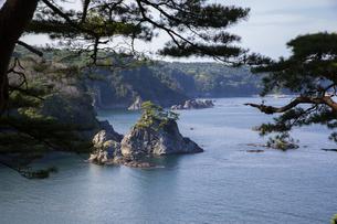 浄土ヶ浜の浜ゆり展望台の写真素材 [FYI04914884]